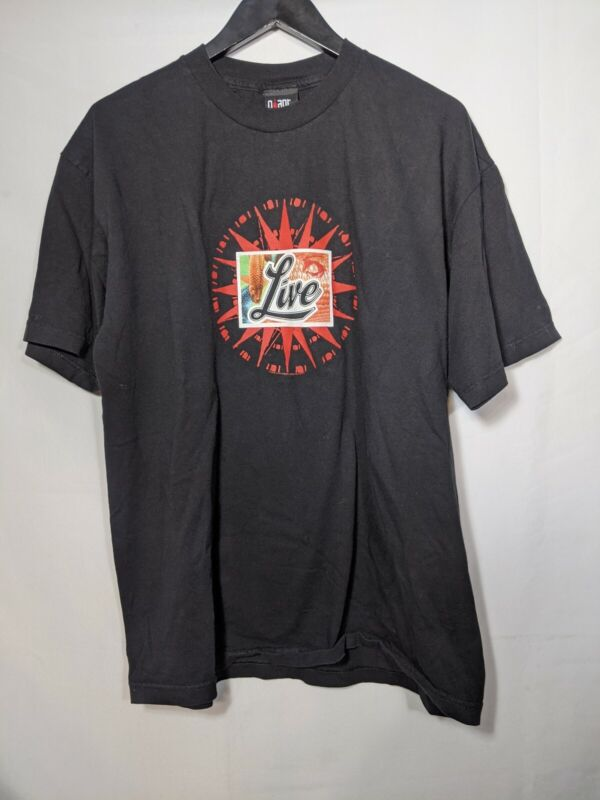 Vintage Live Band Distance To Here 2000 Shirt XL Giant Tag Tour