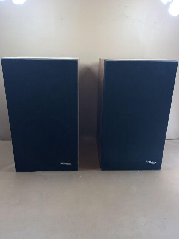 Vintage Pioneer HPM100 Speakers- Lot Of 2