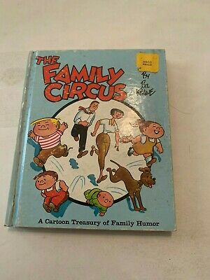 1965 The Family Circus by Bil Keane Hardcover Family Circus Books