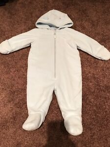 Fall/winter one piece fleece outfit 6-9 months