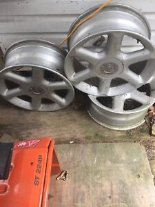 17 inch Nissan rims