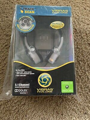 XBOX 360 VIBRAS FIVE ONE TRACK SCAN GAMING HEADSET 5.1 CH SURROUND SOUND SYSTEM covid 19 (Xbox 360 Surround Sound coronavirus)