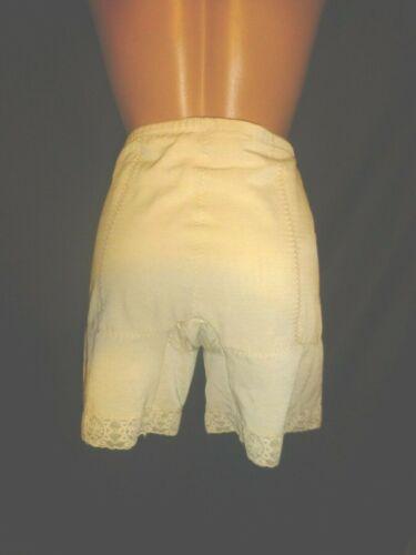 40 Vintage Subtract Girdle NUDE Long Leg Panty Control Shaper Nylon Garter Loops