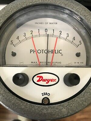 New Dwyer 3310 Photoelectric Gauge