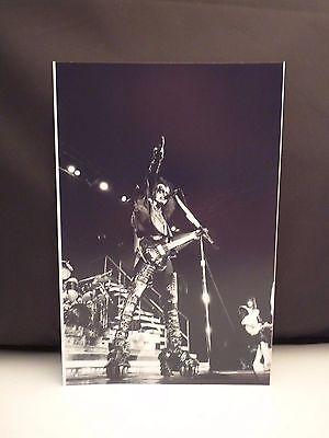 Kiss 1977 L.A. Forum Gene Simmons Live 8x12 Photo #11 From Original Negative