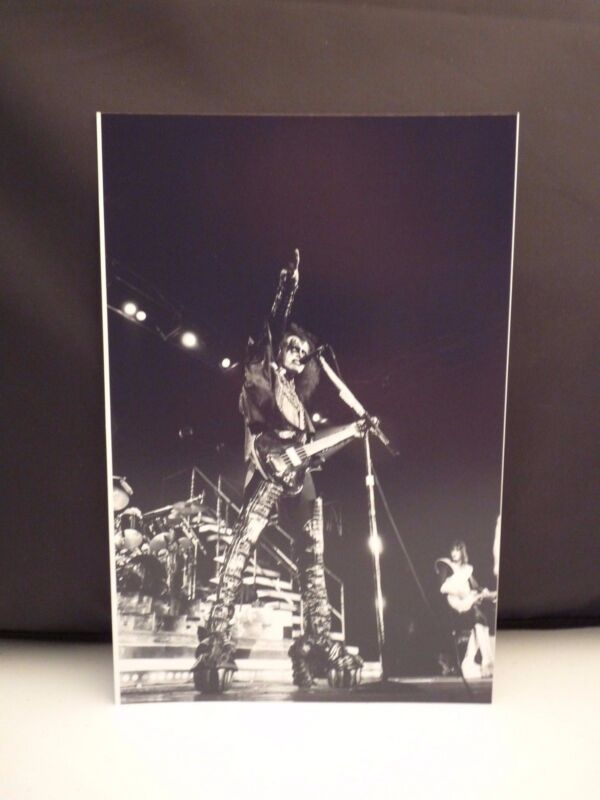 Kiss 1977 L.A. Forum Gene Simmons Live 8x12 Photo #11 From Original Negative