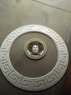 Versace key circle and ornament
