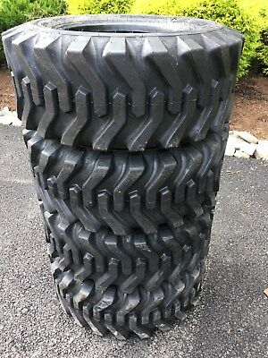 4 New 12-16.5 Skid Steer Tires - Camso Sks332 - For Bobcat Others