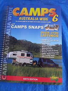 CAMPS AUSTRALIA WIDE 6 HEMA Road Atlas, Free Camps Guide Karrinyup Stirling Area Preview