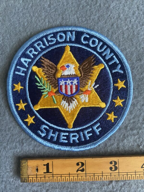 Harrison County Sheriff (Missouri) Shoulder Patch From The 1980s B2