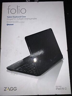 ZAGG Slim Book for iPad Air 2 - Black (ID6ZF2-BB0) ... FREE SHIPPING ..... B4