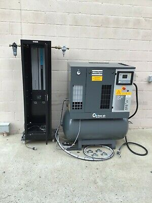 Atlas Copco Sf6ff Air Compressor Oil-free Scroll System With Dryers And Drain