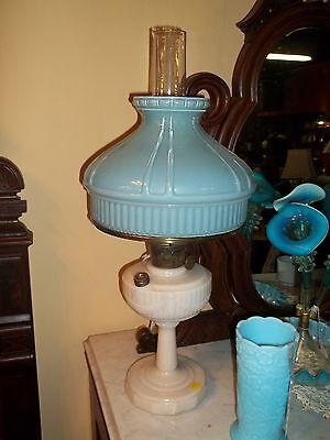 Spectacular Aladdin Lincoln Drape Alacite Lamp early 20th century.