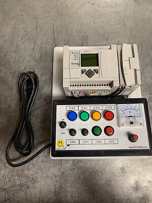 Allen Bradley Analog Micrologix 1100 Plc Trainer
