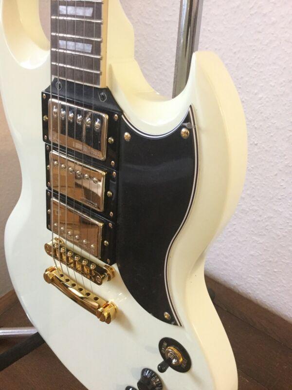 Vintage SG 3 Pick Up Electric Guitar  VS63VW [POWER SG]