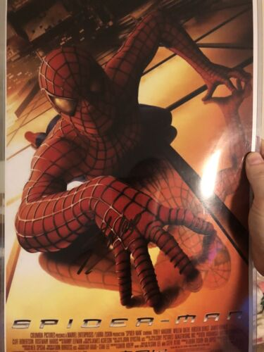 SPIDER-MAN 11x17 Mini POSTER SIGNED BY STAN LEE - $49.99