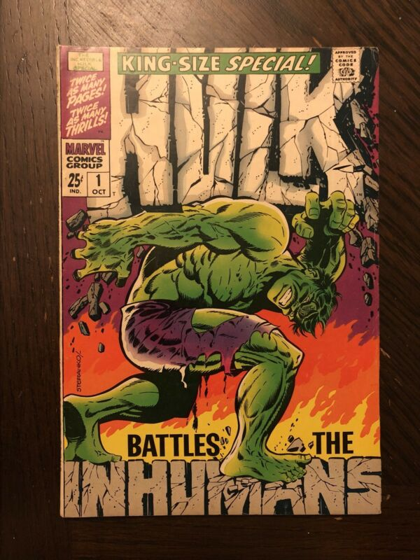 THE INCREDIBLE HULK SPECIAL #1 (Oct 1968, Marvel) IN VF CONDITION!