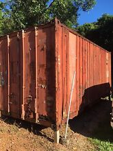 Rusty shipping containers FREE Bramston Beach Cairns Surrounds Preview