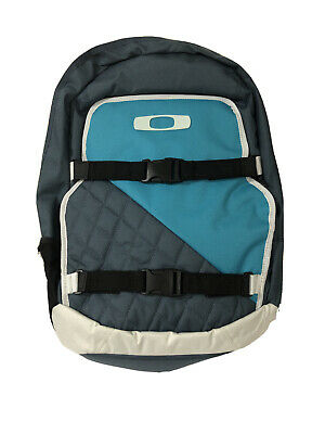 "OAKLEY Streetman 2.0 Pack 15"" Laptop Skateboard Backpack Orion Blue White 28L"