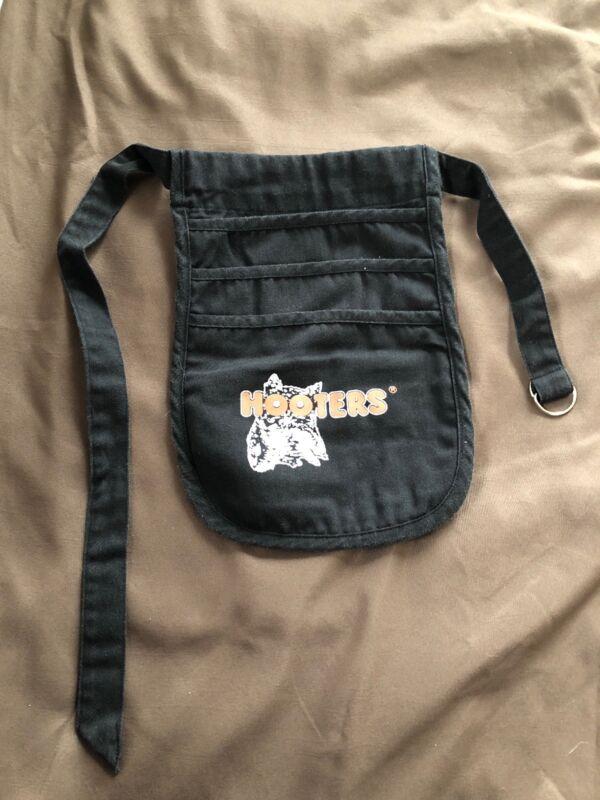 Vintage Hooters' Black Hip Apron Server/Money Bag (Adjustable)