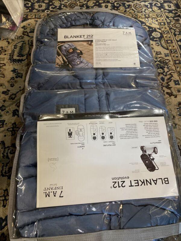 Blanket 212 Evolution Extendable Baby Bunting Bag Mettalic Steel Blue