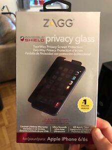 Zagg Privacy Glass Protective Screen for iPhone 7/8