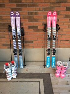 Downhill skis. $150 each package