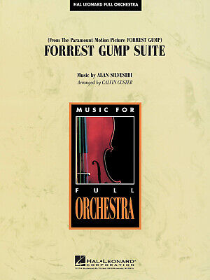 Forrest Gump Suite Alan Silvestri Orchestra Set Play MUSIC SCORE & PARTS - Forrest Gump Suit