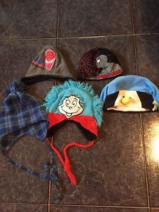 Assortment of Boy's Winter Hats
