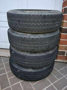 6 stud tyres rims off Holden Rodeo Narellan Vale Camden Area Preview