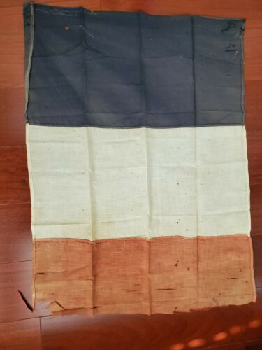 WW1 Imperial German flag first world war army antique old original French