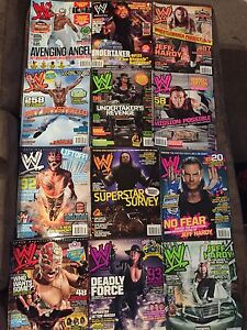 WWE Authentic/Collectible Magazines