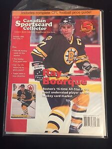 Special 5th Anniversary Issue Canadian Sportscard Collector