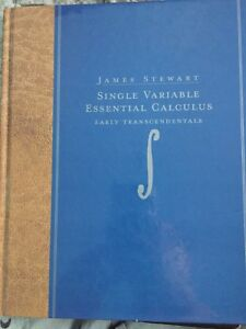 Hard textbook Single Variable Essential Calculus