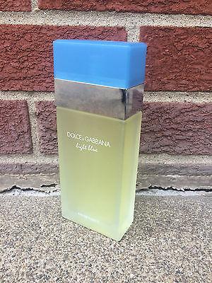 Dolce & Gabbana Light Blue 3.3oz  Women's Eau de Toilette *100% AUTHENTIC* NEW