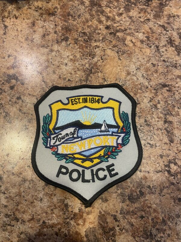 Newport Maine Police Patch