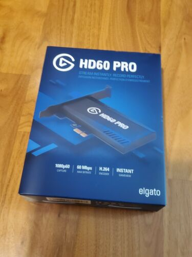Elgato HD60 Pro Game Stream Capture Card 1080p 60 fps