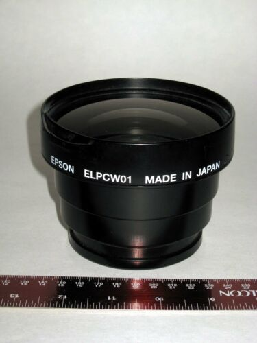 Epson ELPCW01 Wide-Angle Conversion Projector Lens