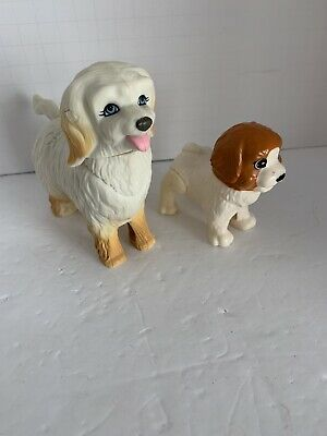 Mattel Barbie Doll Tika Momma Pet Dog Day Care Puppy Lot 2