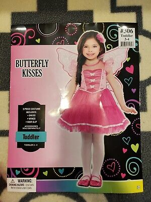 Toddler Holloween Costumes (Butterfly Kisses Toddler Costumes (Holloween/Birthday)