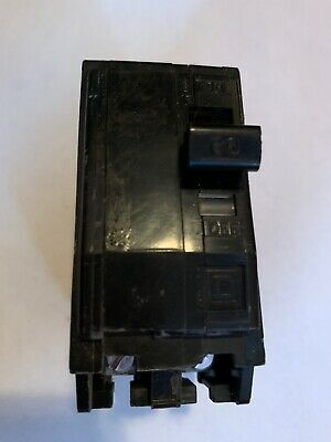 Square D 60 Amp Double Pole Circuit Breaker Tested