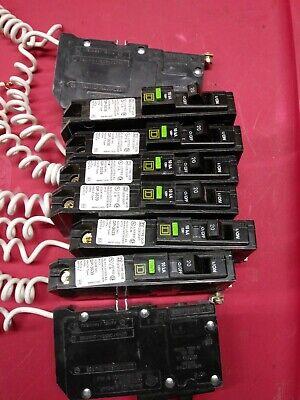 1 Square D Circuit Breaker Qob120afi 20 Amp Afci Qob Bolt On Dp-3639 Arc Fault