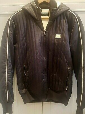 Dolce And Gabanna Gold Plaque Jacket Coat - RRP £1200 Purchased From (Dolce Gabanna Store)