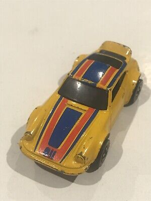 Vintage 1974 Hot Wheels Redline Flying Colors Porsche P-911 Hong Kong