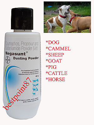 Negasunt Wound Powder Fast Active Safe Treatment Animal Pet First Aid Dog Horse