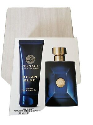 Versace 100ml Dylan Blue Spray Travel Pack 100% GENUINE BRAND NEW IN BOX