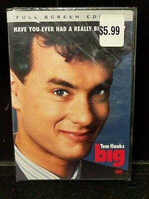 New Sealed Tom Hanks Big Full Screen Bonus Feaures Comedy DVD  M1-G (Halloween Full Movie 1)