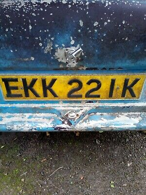 Reliant Regal 325 Car reg
