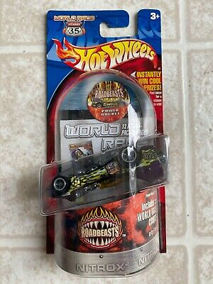 Hot Wheels Highway 35 World Race Roadbeasts Power Rocket PACKAGING ERROR!