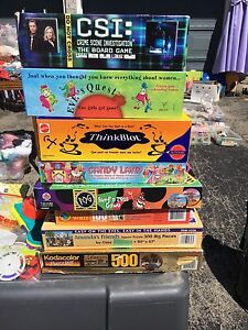 Selling board games and puzzles cheap